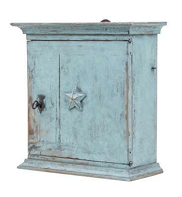 Small 19Th Century Swedish Painted Wall Cabinet