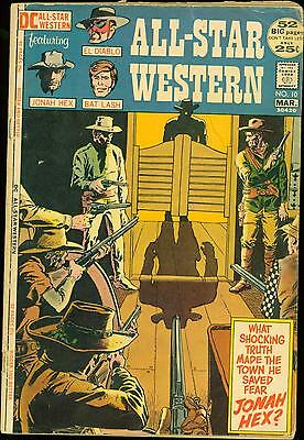 All-Star Western #10 (Feb-Mar 1972, DC) 1st Appearance of Jonah Hex VG 4.0