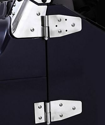 Smittybilt Stainless Full or Half Door Hinge Set for Jeep Wrangler YJ TJ 87-06