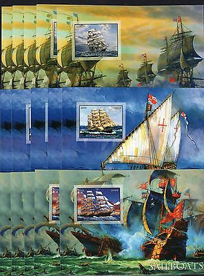 15x Boats/Ships- imperf.,private issue -2 -(B10)