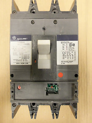 Ge Sgha 2 Pole 600 Amp 600V Sgha26At0600 Circuit Breaker Frame Only