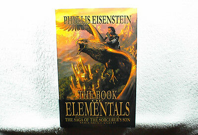 The Book of Elementals by Phyllis Eisenstein SIGNED (2005, Hardcover 1st Print)