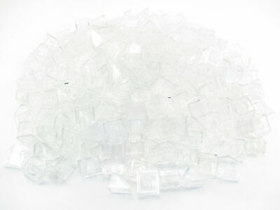 LEGO Trans Clear Slope 45 2x2 Lot of 100 Parts Pieces 3039