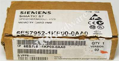 New Siemens 6ES7952-1KP00-0AA0 E-Stand 2 SIMATIC S7 MC 952 Memory Card Qty