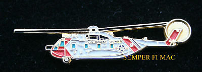 Hh-3F Pelican Us Coast Guard Lapel Hat Pin Helo Helicopter Uscg Pilot Crew Wing