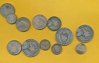 Panama Lot Of Silver - $3.15 Face - With 1930's