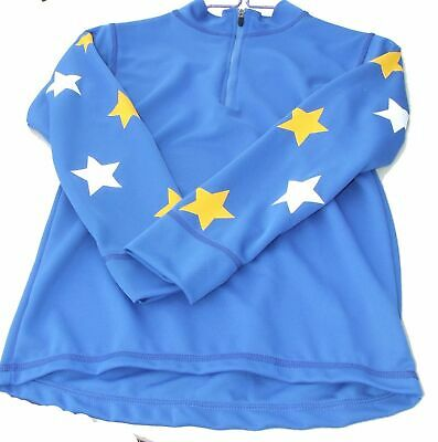 Equetech Cross Country Colours childrens Royal with white & yellow stars small E