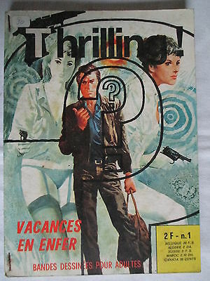 Thrilling 1  Elvifrance 1973 Tres Rare