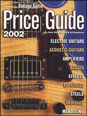 VINTAGE GUITAR MANDOLIN Ukulele Bass Price Guide 2002