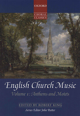 English Church Music Volume 1 Anthems & Motets Choral Classics SATB Music Book