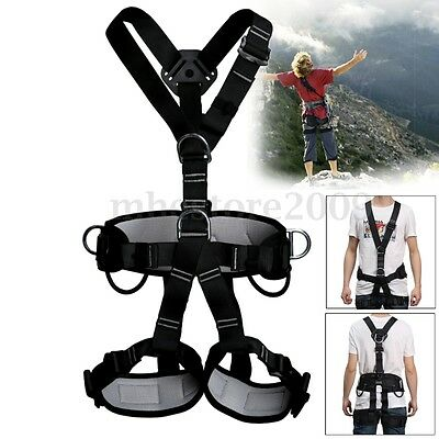 Safety Seat Harness Belt for Downhill Rock Climbing Tree Rigging Fall Protection