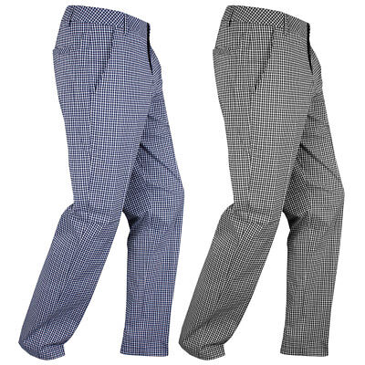 47% OFF RRP Puma Golf 2016 Mens Plaid Tech Pant DryCell Lightweight Trousers