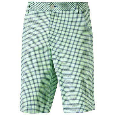 47% OFF RRP Puma Golf 2016 Mens Plaid Check Shorts 570521 dryCELL UV Tech