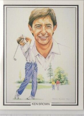 #2 Ken Brown - The Ryder Cup 1987 Winners Collector Card
