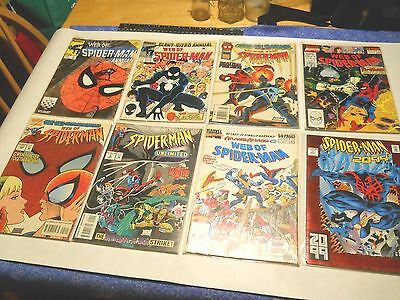 12 Collectable Comics- Spider-Man and Silver Surfer