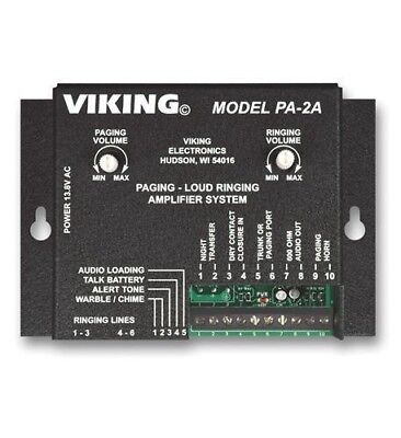 Viking Electronics Paging / Loud Ringer with 8 Ohm Horn VK-PA-2A