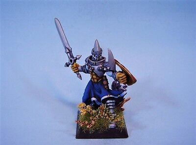 Confrontation painted miniature Griffin Knight