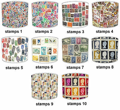 Lampshades Ideal To Match Vintage Postage Stamps Cushions, Vintage Stamps Duvets
