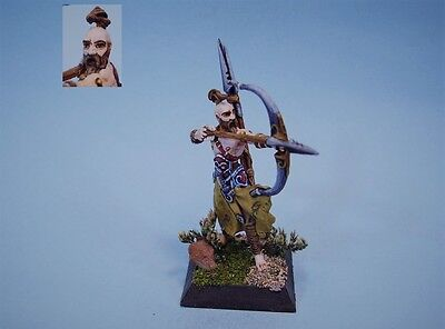 Confrontation painted miniature Barbarian Archer