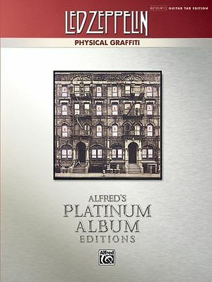 Led Zeppelin Physical Graffiti Platinum Authentic Guitar Tab Edition Book NEW!