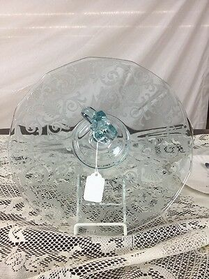 Fostoria Versailles Center Handled Server Plate