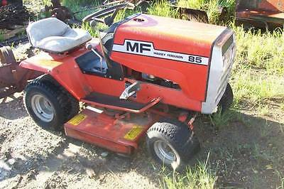 Massey Ferguson Model 85 Riding Lawn Tractor