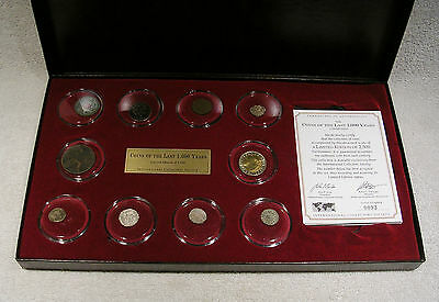 Coins of Last 1000 Years Collection - COA Limited Edition - 11th to 20th Century