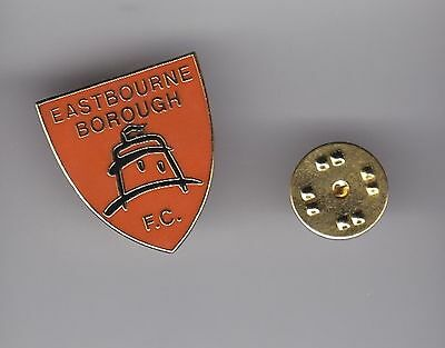 Eastbourne Borough - lapel badge butterfly fitting