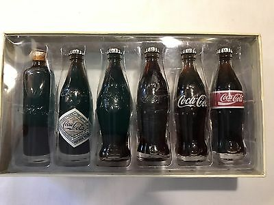 Coca Cola Evolution Of The Contour Bottle  1998 Nib