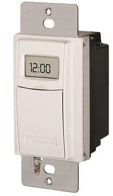 New Intermatic St01 15 Amp 24 Hour In Wall Timer Programmable Heavy Duty 9489428