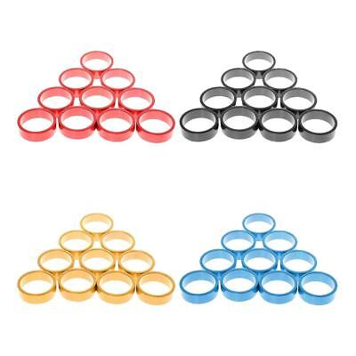 40 Pieces Bicycle Bike MTB Aluminum Alloy 1-1/8 inch Washers Headset Spacer
