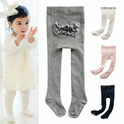 Toddler Baby Kids Girls Cotton Tights Socks Stockings Pants Hosiery Pantyhose