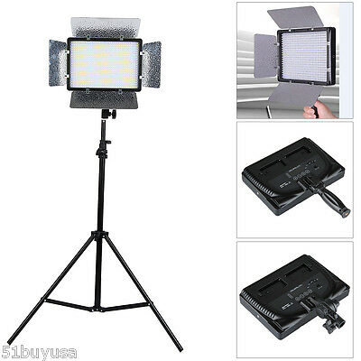 Excelvan 680S LED Studio Video Light Touching Panel For Camera Camcorder DV