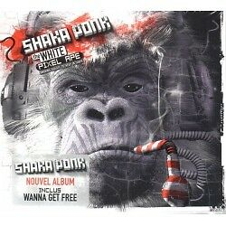 Shaka Ponk - White Pixel Ape the - CD - Neu / OVP