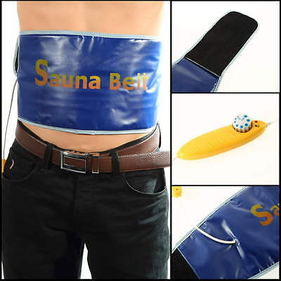 Velform Sauna Belt Fat Cellulite Burner Slimming Fitness Waist Sweat EH