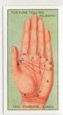 #21 By Palmistry principal Telling your fortune card r