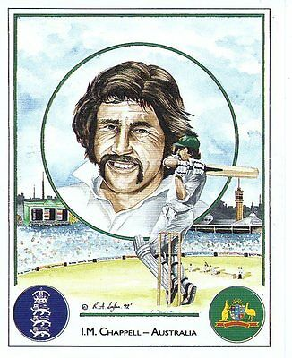 #22 I M Chappell - Australia Captain Cricket Card
