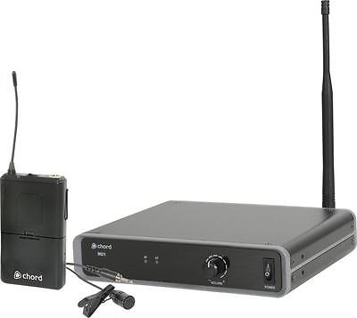 Chord 171.983 UHF Wireless Microphone System with 863.1MHz Fixed Transmitter