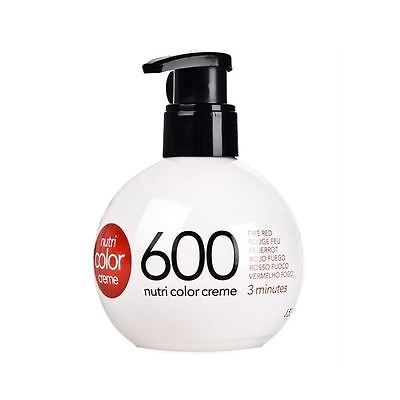 Revlon - Nutri Color Creme 250ml - 600 Fired Red