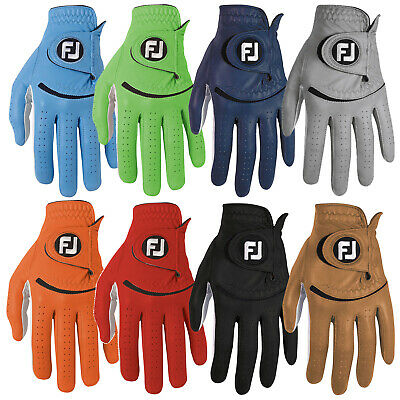 Footjoy Mens Spectrum Left Hand Golf Glove - New Right Handed Cabretta Leather