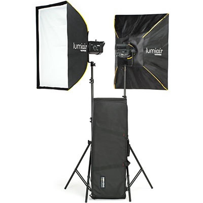 Bowens Gemini 400Rx Twin Head Studio Lighting Twin Softbox Kit (BW-4770SBUK)