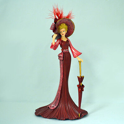 Passion for Red - Passion For Red Figurine Thomas Kinkade Bradford Exchange
