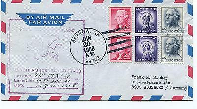 1968 Top of The World Narl Fletchers Ice Island T-3 Barrow Alaska Polar Cover