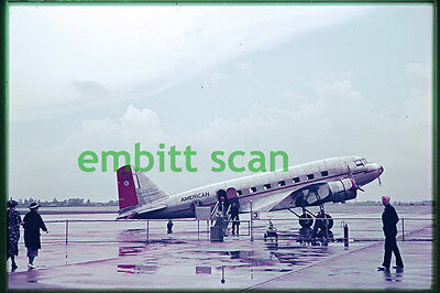 Original Slide, American Airlines Douglas DC-2 (NC14922), in 1938