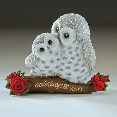 Owl Always Be Yours - Your Such a Hoot  Figurine Bradford Exchange