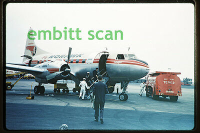 "Original Slide, Mohawk Airlines Convair CV-240 (N1013C ""Air Chief Erie""), 1960"