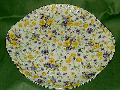 English Bone China~EMILY CHINTZ~Serving Plate  ~Made in England~New