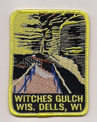 Witches Gulch, Wisconsin Dells Wisconsin Souvenir Patch