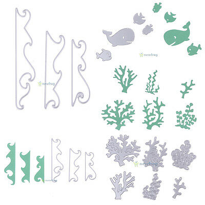 Metal Cutting Dies Stencil DIY Scrapbooking Album Paper Card Embossing Craft New