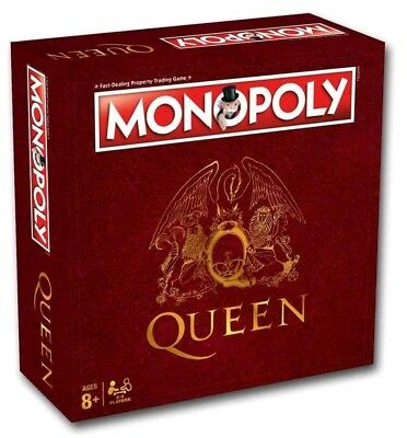 Queen Monopoly Board Game Brand New // Pre-Order!!!